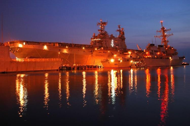 Repurposing the USS Nassau
